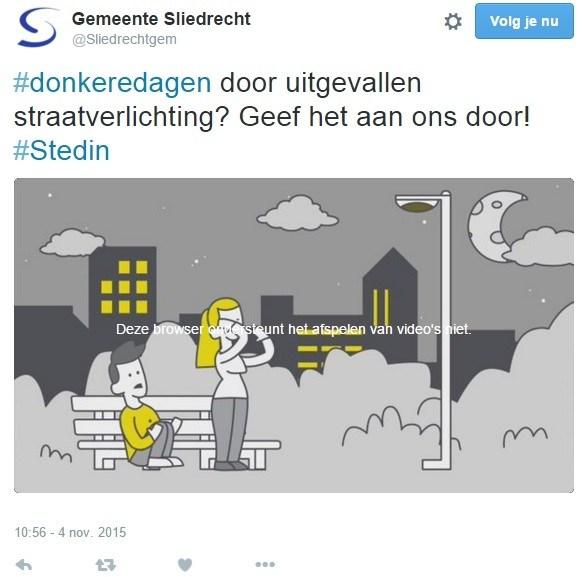 Openbare verlichting uitgevallen - Sliedrecht24