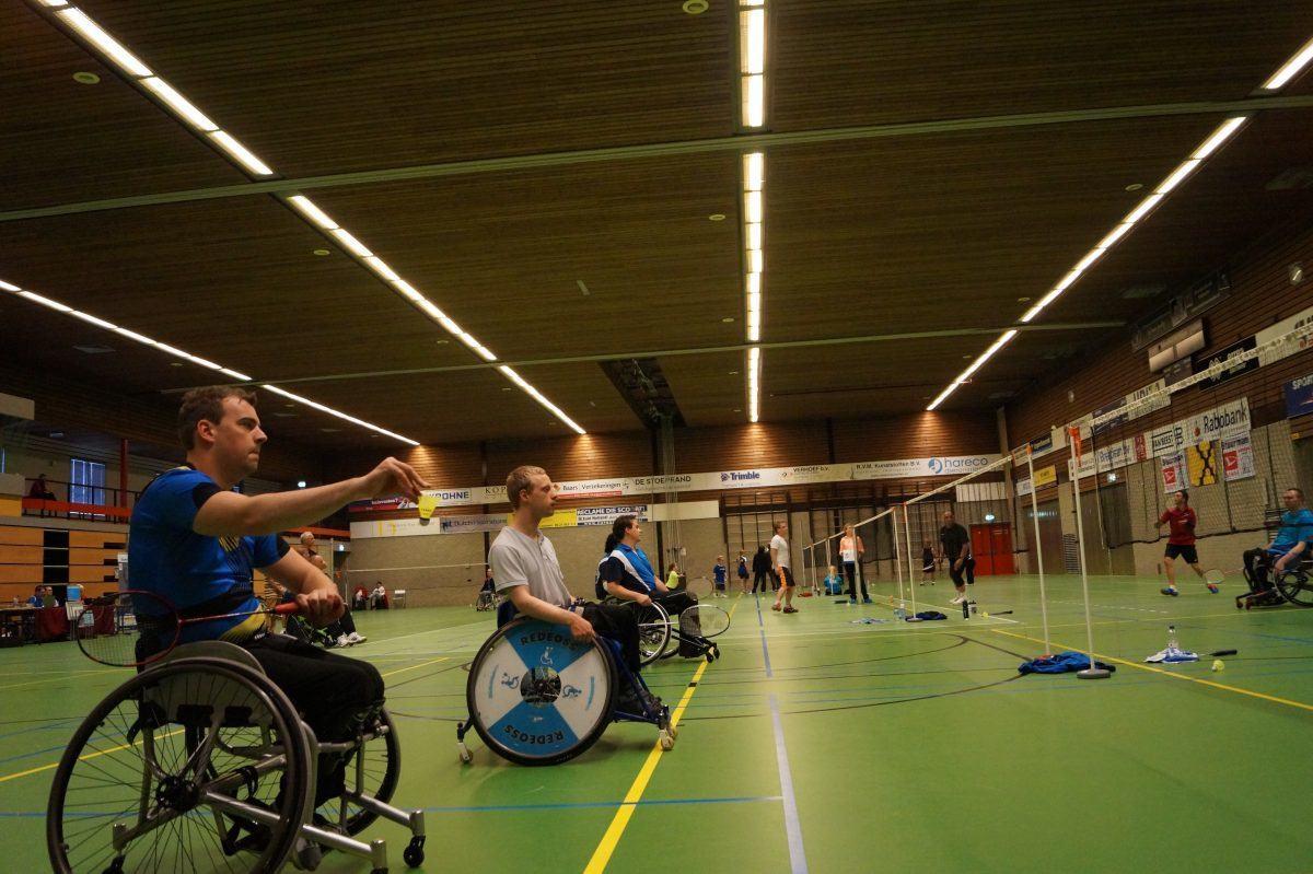 Internationale deelnemers op Para-Badminton Toernooi ... Badminton Toernooi Nl