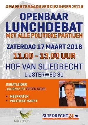 Lunchdebat Sliedrecht24 Hof van Sliedrecht