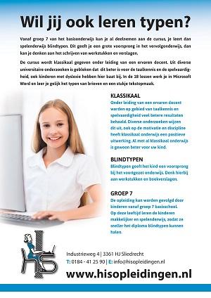 H.I.S. opleidingen typeles kinderen