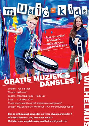 Wilhelmus' Muziekkorpsen Music Kids