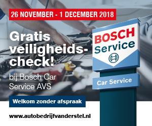 Bosch Car Service AVS Gratis Veiligheidscheck