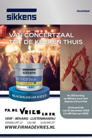 Fa. De Vries en Zn. ACTIE