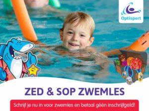 Optisport Bronbad De Lockhorst zwemles geen inschrijfgeld