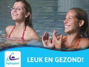 Optisport Bronbad de Lockhorst Aquasport leuk en gezond