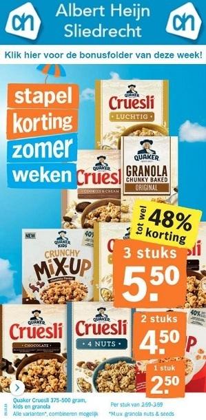 Albert Heijn Sliedrecht bonusaanbiedingen